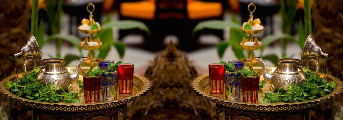 Marokkanische Tee Set