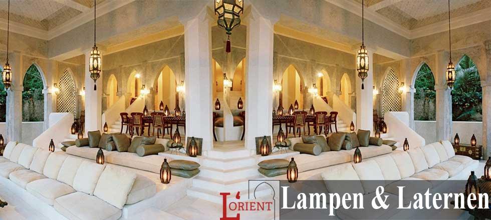 Orientalische marokkanische Lampen & Laternen - l-orient.de