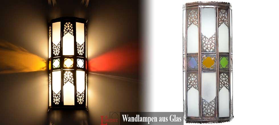 Wandlampen aus Glas
