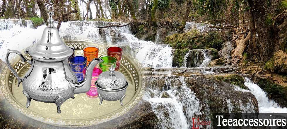 Orientalisches Tee Set
