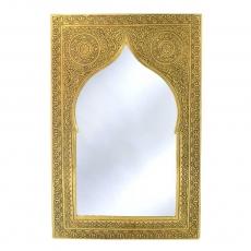 Arabischer Spiegel Qantas – Messing  H 41 cm