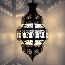 Arabische Deckenlampe Qwas Milk H 55 cm