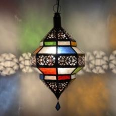 Arabische Deckenlampe Ufo Bunt H 45 cm