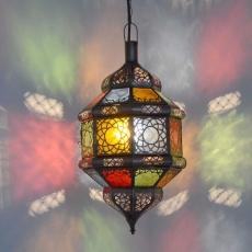 Orientalische Lampe GHM_multifarbiges Glas