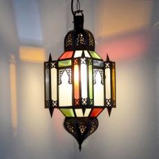 Orientalische Lampe GHM_M Milchglas