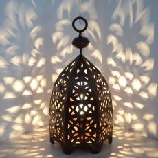 Orientalische Laterne aus Schmiedeeisen ELM_34 cm