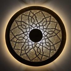 Orientalische Wandlampe aus Messing W 80