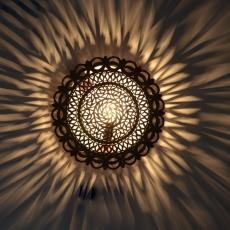 Arabische Wandlampe Sole