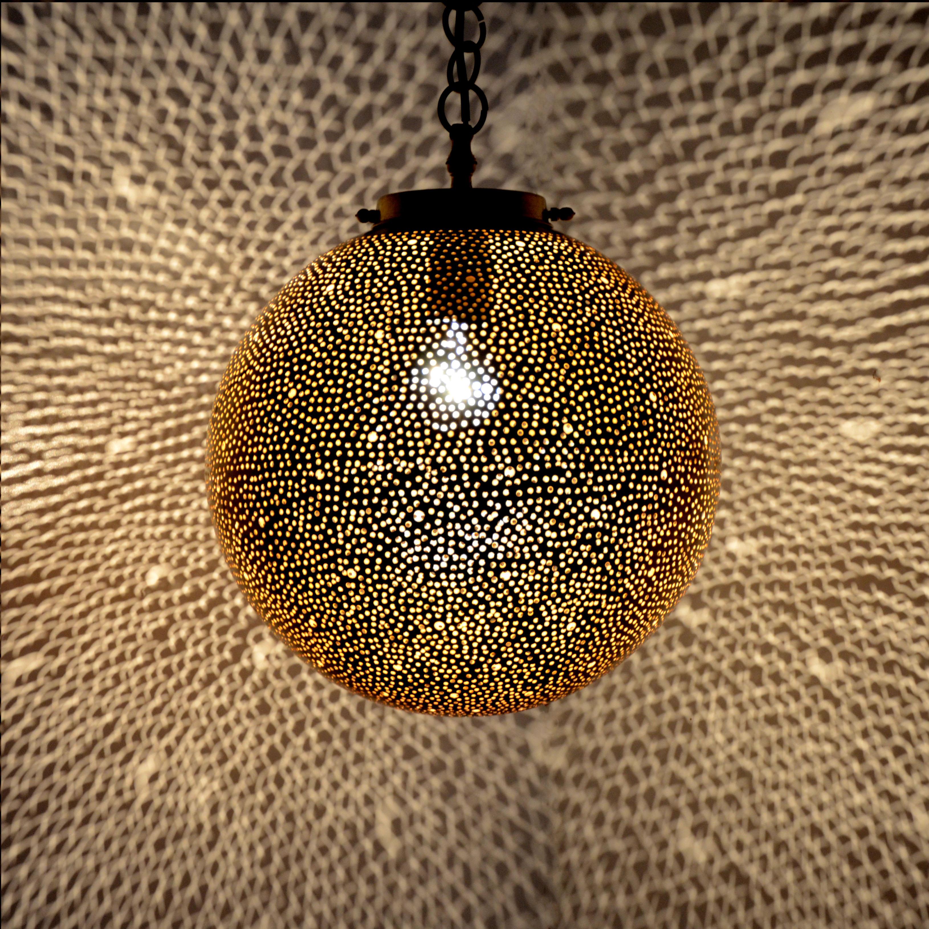 Orientalische messinglampe mkl l for Orientalische messinglampe