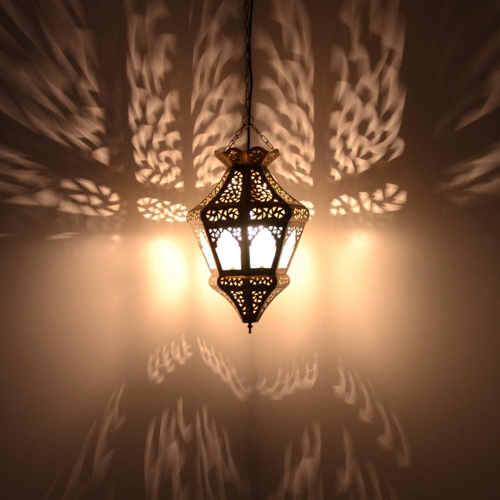 Orientalische deckenlampe aus messing mltm2 l for Orientalische deckenlampe