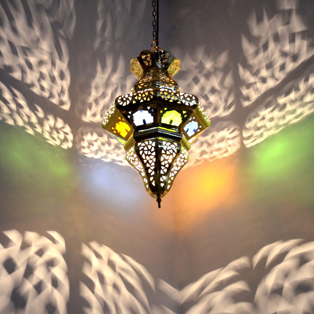 Marokkanische Lampe Aus Messing L