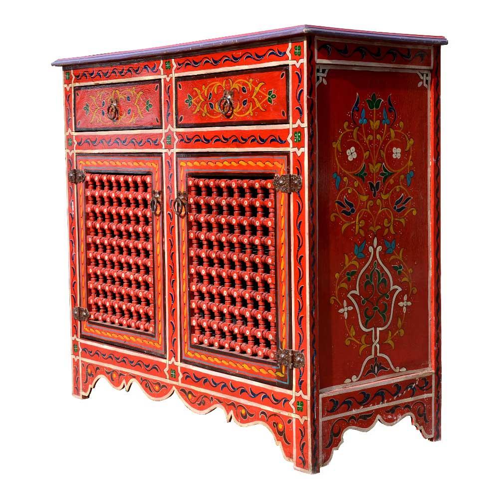 Orientalische Kommode K08 handbemalt \