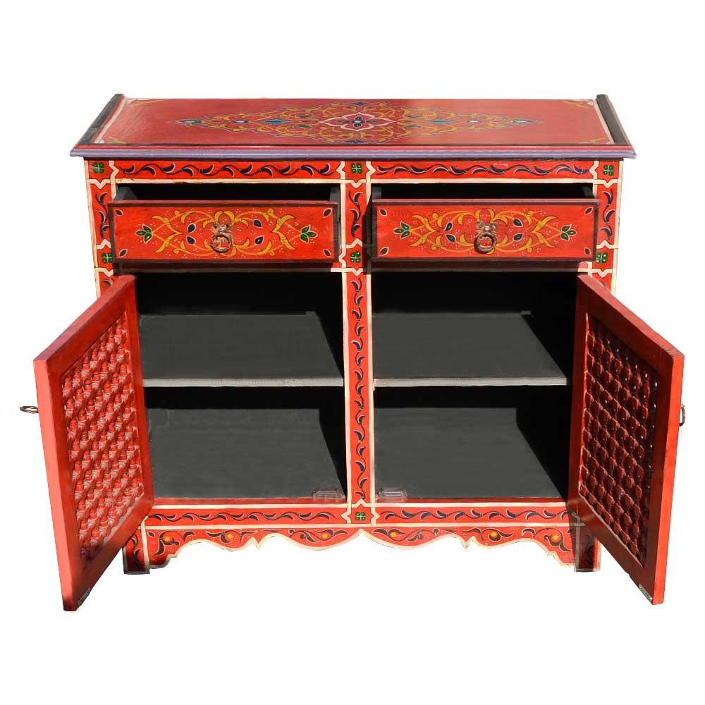 Orientalische Kommode orientalische kommode k08 handbemalt 100 handarbeit l orient de