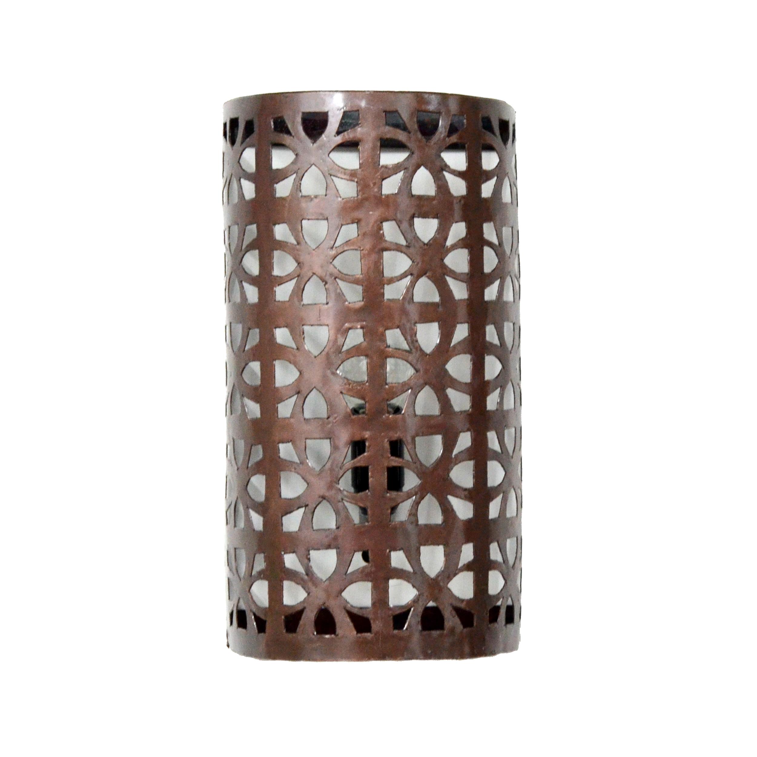 Wandlampe aus metall l for Orientalische wandlampen metall