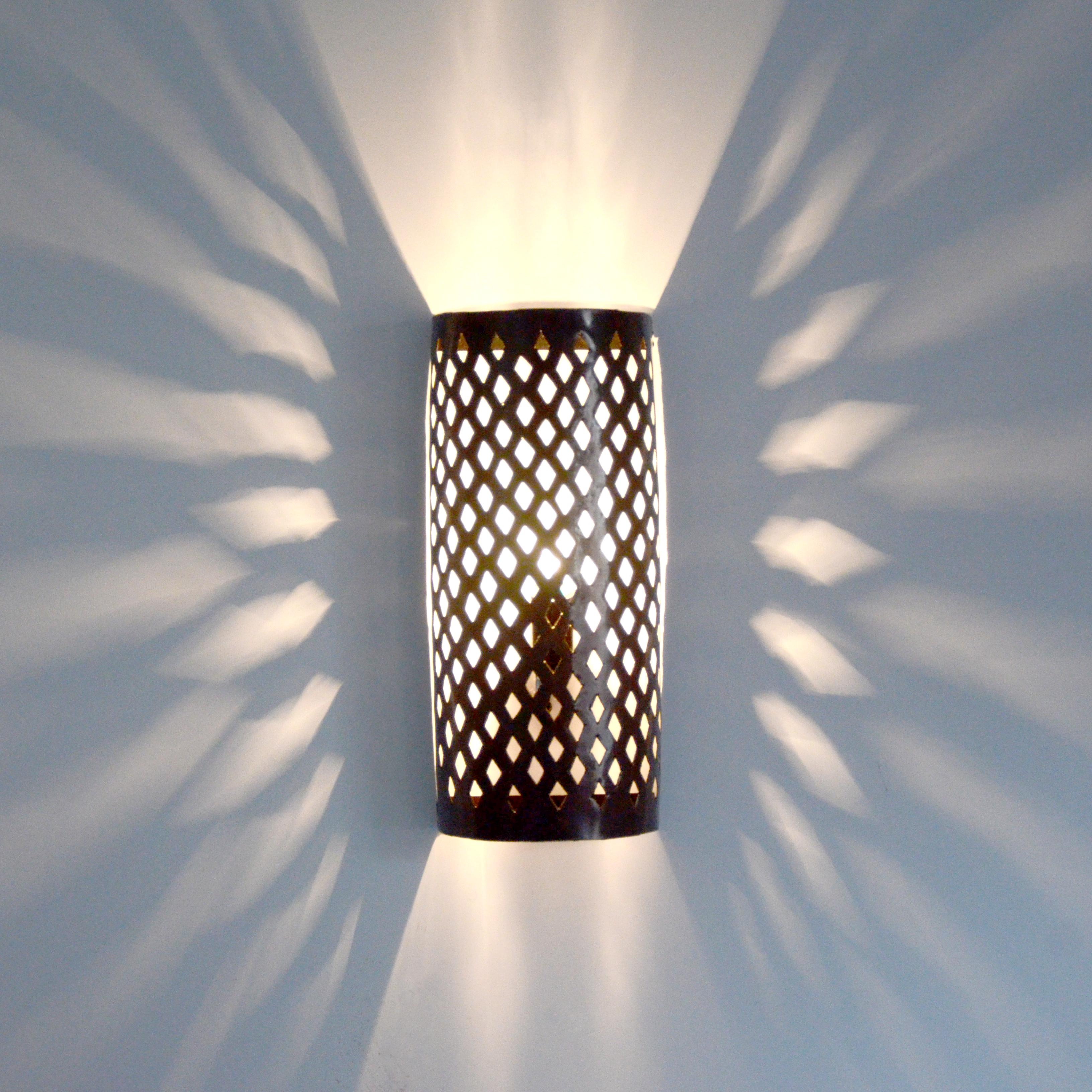 Orientalische wandlampe mw14 aus marokko l for Orientalische wandlampen metall