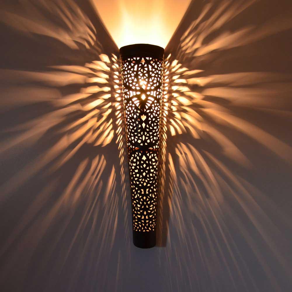 marokkanische wandlampe wkm 100 handarbeit l orient On marokkanische wandlampe