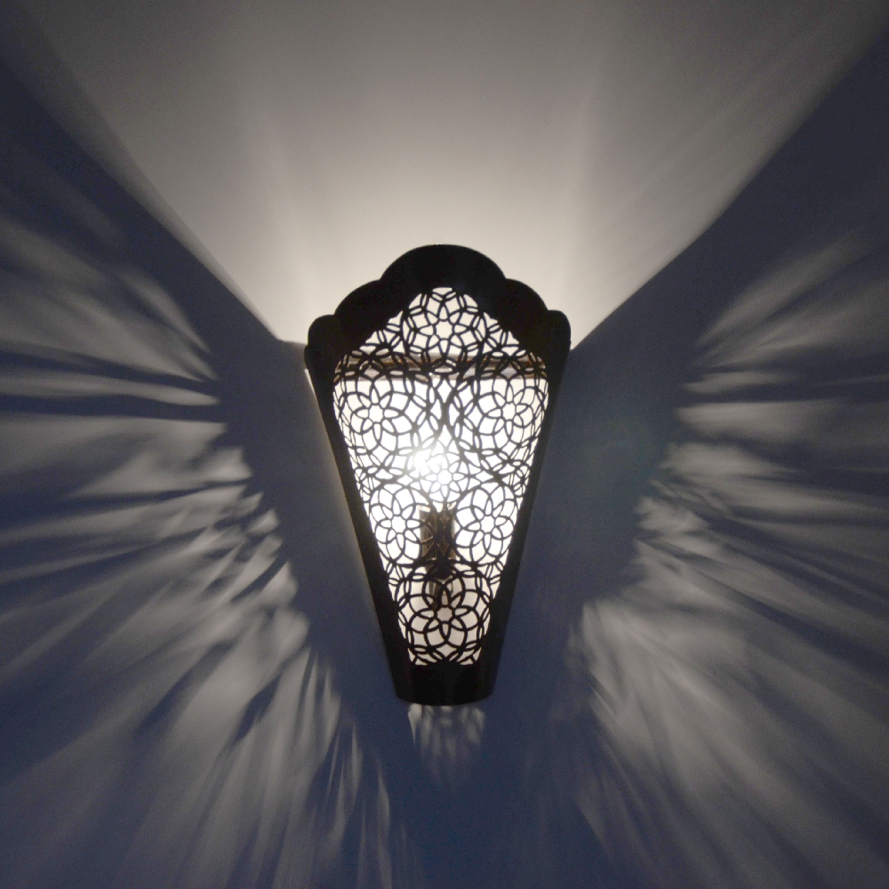 Marokkanische wandlampe ew06 100 handarbeit l 39 orient for Marokkanische wandlampe