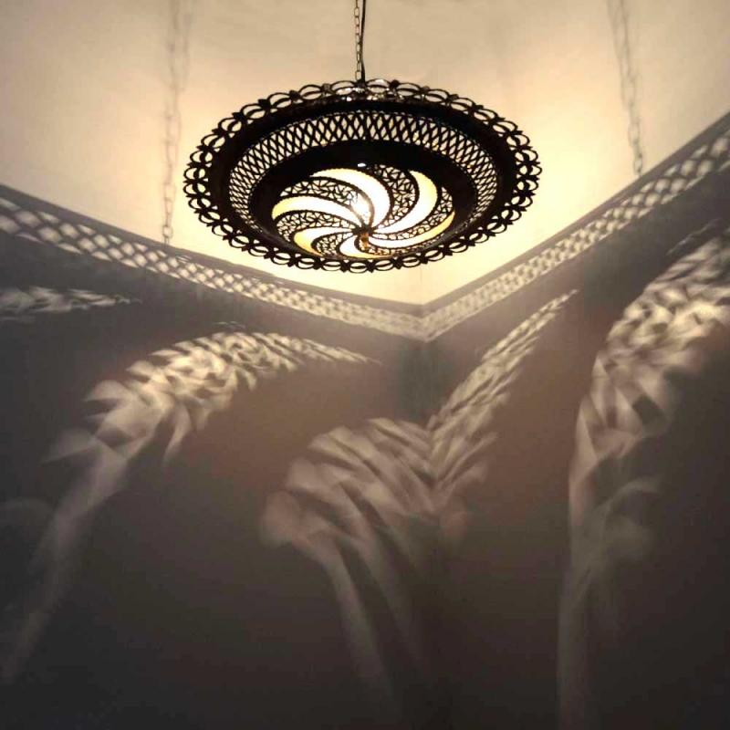 Orientalische Lampe Space H 25 cm