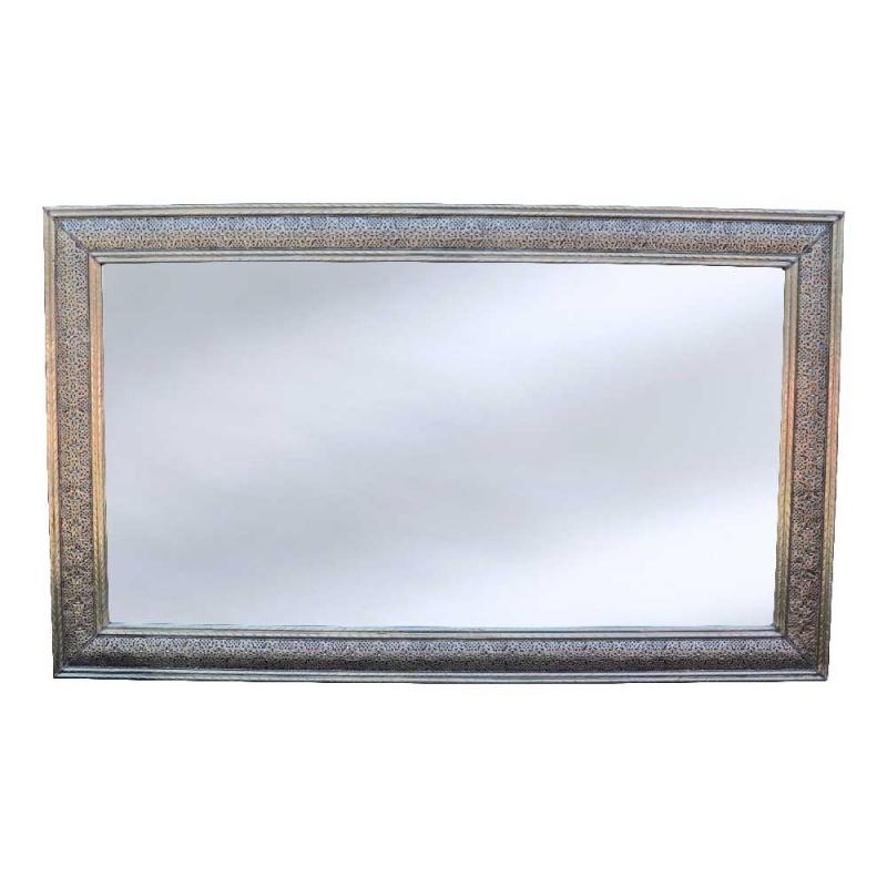 Arabischer Spiegel Ella – Versilbertes Messing H 200 cm