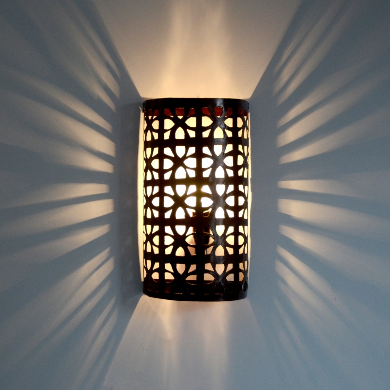 Wandlampe aus Metall