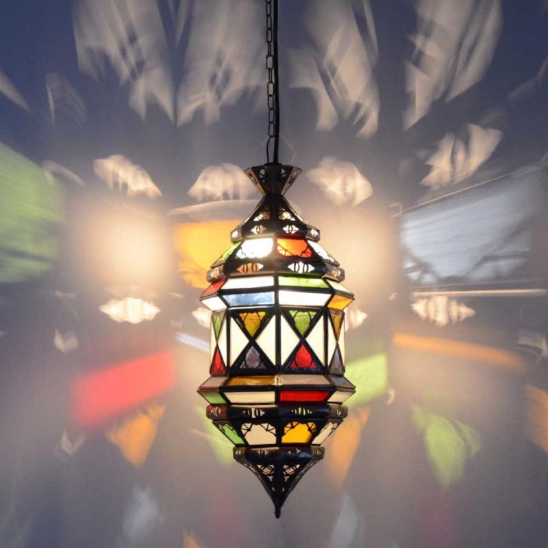 Marokkanische Hängeleuchte GHTr_M