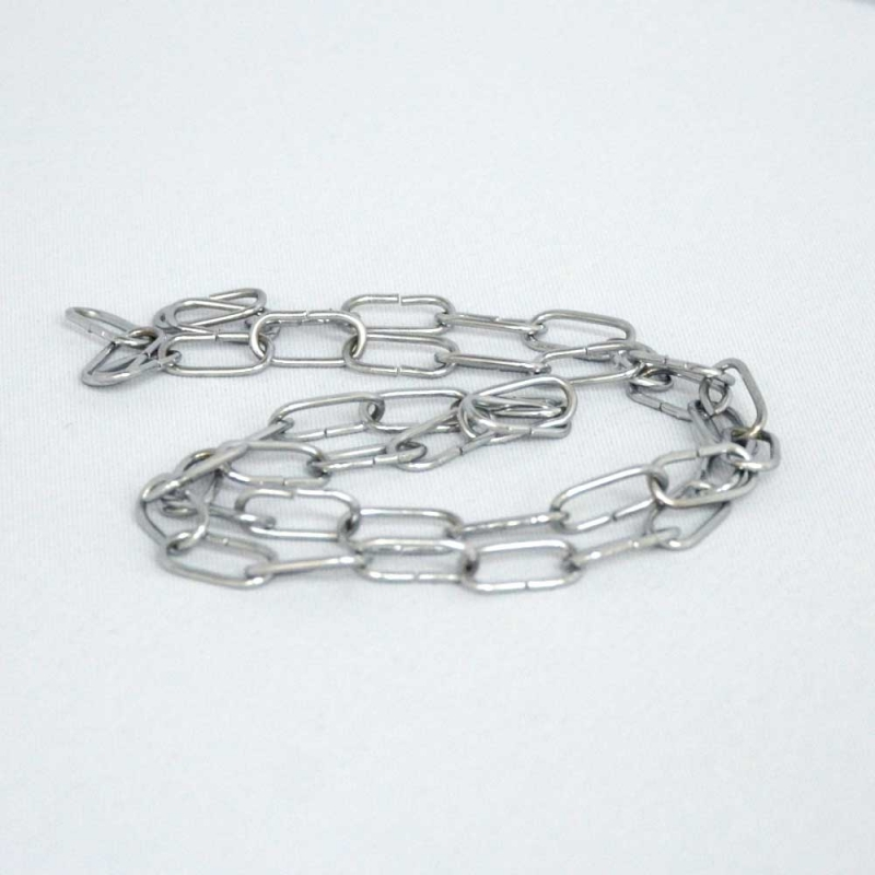 1 Meter Kette / Silberne Farbe