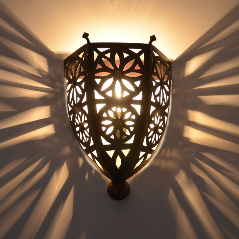 Orientalische Wandlampe T4