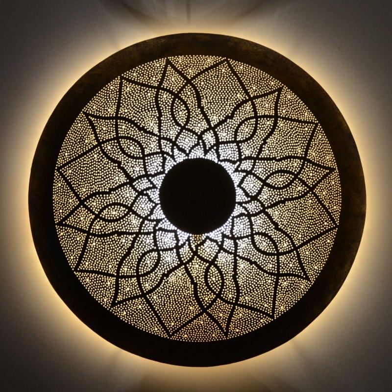 Messing Wandleuchte Cercle D 60 cm bei Ihrem Online Shop