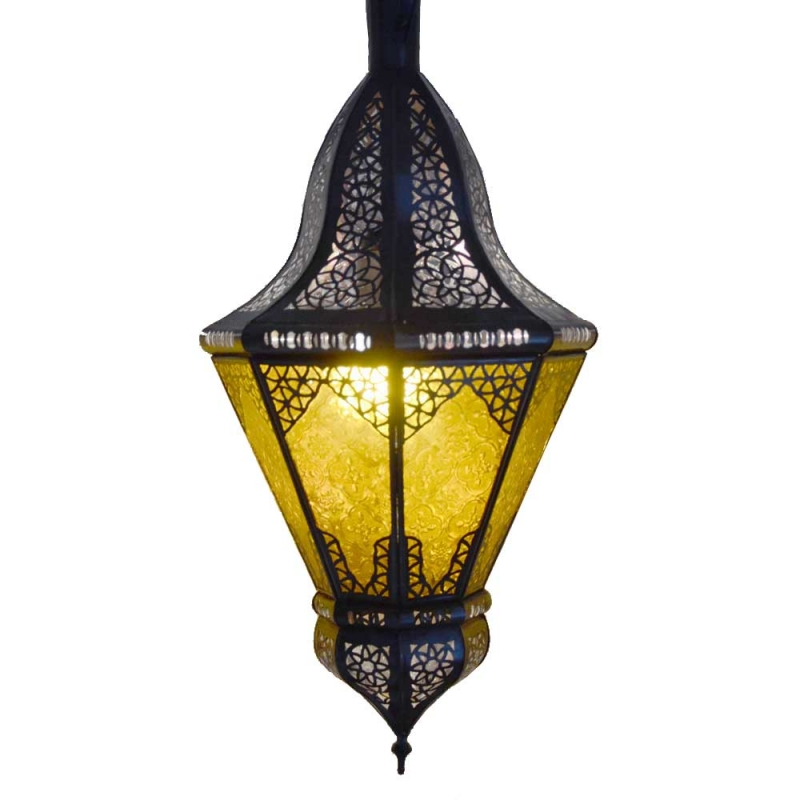 Marokkanische Wandlampe Beyblade 50 Amber