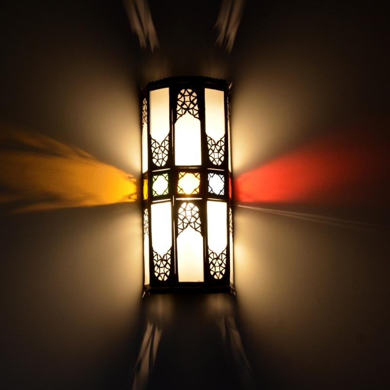 Orientalische wandlampe gw01 l for Orientalische wandlampen metall
