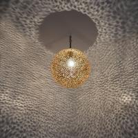 Orientalische Messinglampe MKL D40cm