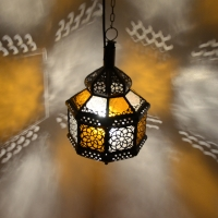 Arabische Deckenlampe Dad Bunte H 35 cm
