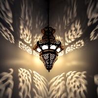 Arabische Messinglampe MLKT5