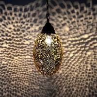 Messinglampe aus Marokko 100% Handarbeit