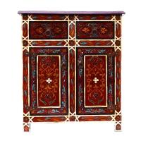 Marokkanische Kommode K03 aus vollem Holz