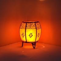 Leder Windlichter aus Marokko