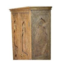 Orientalischer Schrank Messing-Verkleidung H200 cm