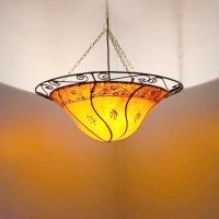 Orientalische Leder Lampe aus 1001 Nacht