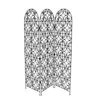 Orientalische Paravent Raumteiler aus Eisen