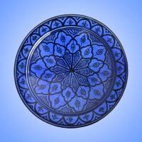 Marokkanische Keramik Teller KTB_M
