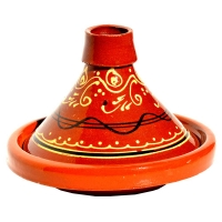 Tajine Bladi – Glasiert 1 Person D 19,50 cm