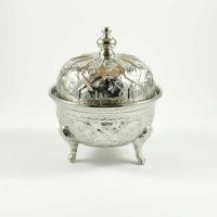 Arabische Zuckerdose Leo – Silber D  cm