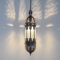 Orientalische Lampe GHM_Weiss