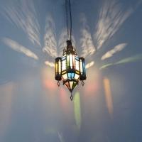 Orientalische Lampe GHM_S Milchglas