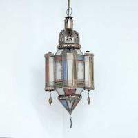 Marokkanische Deckenlampe Alome Bunt Small H 48 cm