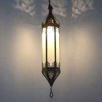 Orientalische Lampe GHC_Milchglas