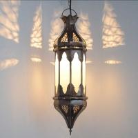 Orientalische Lampe GHCL_Milchglas