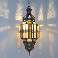 Marokkanische Deckenlampe Umami Bunt H 60 cm