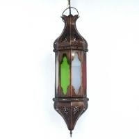 Orientalische Deckenlampe Grancanaria Bunt H 60 cm