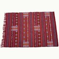 Berber Kelim Bogota – Rot / Baumwolle L 215 cm